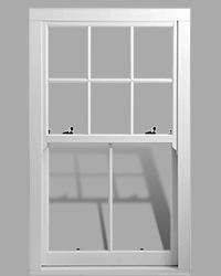 Ultimate Rose uPVC sash window