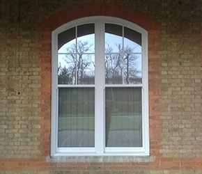 arched head double window