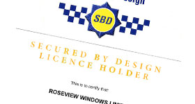 Roseview SBD certificate