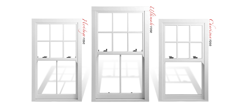 The Rose Collection uPVC sash windows