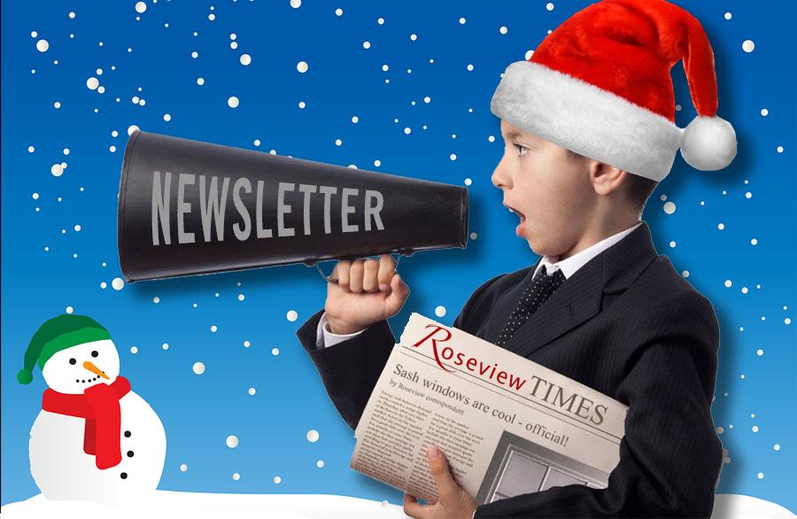 Roseview Christmas newsletter